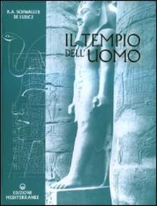 Il tempio dell'uomo - Rene A. Schwaller de Lubicz - copertina