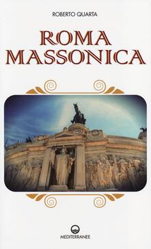 Roma massonica - Roberto Quarta - copertina