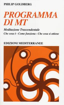 Writersfactory.it Programma di MT. Meditazione trascendentale Image