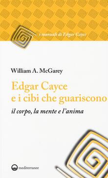 Antondemarirreguera.es Edgar Cayce e i cibi che guariscono il corpo, la mente e l'anima Image