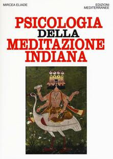 Psicologia della meditazione indiana - Mircea Eliade - copertina