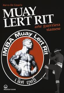Muay Lert Rit. Arte guerriera siamese.pdf