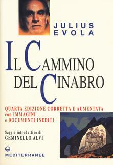 Il cammino del cinabro. Ediz. ampliata - Julius Evola - copertina