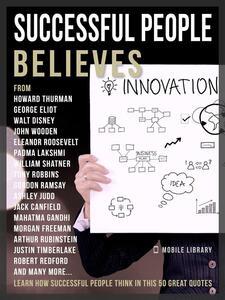 Successful People Believes