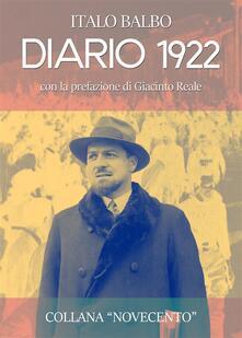 Diario 1922 - Italo Balbo - ebook