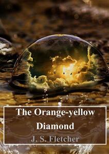 Theorange-yellow diamond