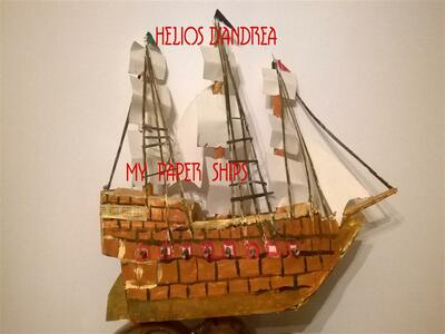 My paper ships