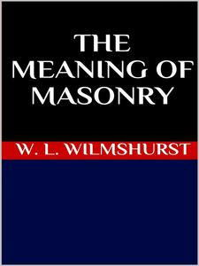 Themeaning of masonry