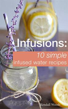 Infusions: 10 Simple Infused Water Recipes