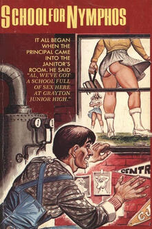 School For Nymphos - Erotic Novel