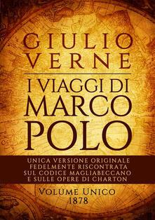 I viaggi di Marco Polo - Jules Verne - copertina