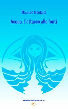 Acqua. L'attacco alle fonti - Maurizio Montalto - copertina