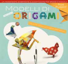 Modelli di origami. Ediz. a colori - Didier Boursin - copertina