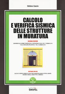 Calcolo e verifica sismica delle strutture in muratura. Con software.pdf