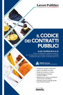 Codice dei contratti pubblici - copertina