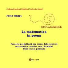 La matematica in scena - Fabio Filippi - copertina