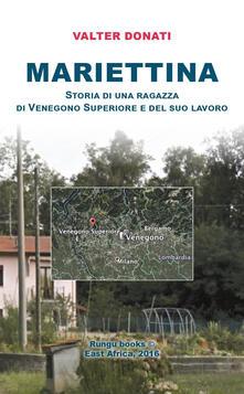 Mariettina - Valter Donati - copertina