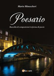 Poesario - Mario Minoccheri - copertina