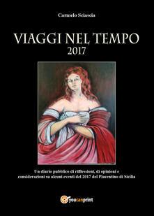 Viaggi nel tempo - Carmelo Sciascia - copertina