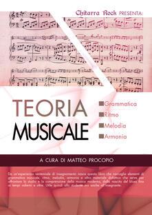 Teoria musicale - copertina