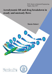 Aerodynamic lift and drag breakdown in steady and unsteady flows
