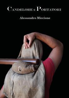 Candelore e portatori - Alessandro Miccione - copertina