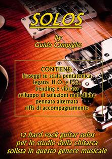 Solos - Guido Campiglio - copertina