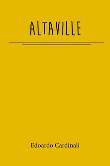 Altaville - Edoardo Cardinali - copertina