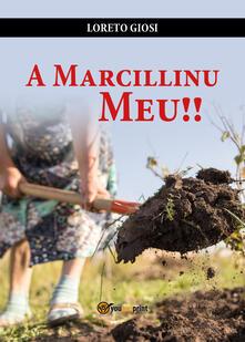 A Marcillinu meu!! - Loreto Giosi - copertina