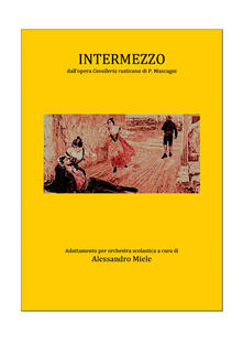 Intermezzo - Alessandro Miele - copertina