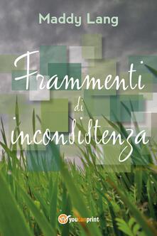 Frammenti di inconsistenza - Maddy Lang - copertina