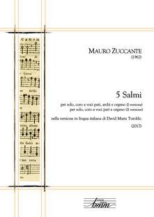 5 salmi - Mauro Zuccante - copertina