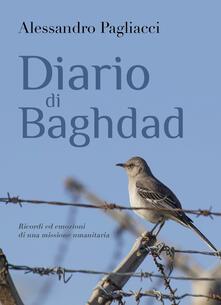 Diario di Baghdad - Alessandro Pagliacci - copertina
