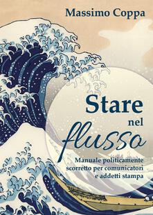 Stare nel flusso - Massimo Coppa - copertina
