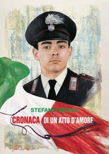 Cronaca di un atto d'amore - Stefano Menga - copertina