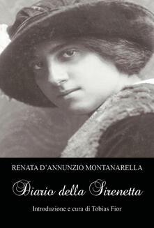 Diario della Sirenetta - Renata D'Annunzio Montanarella - copertina