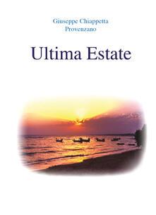 Ultima estate - Giuseppe Chiappetta - copertina