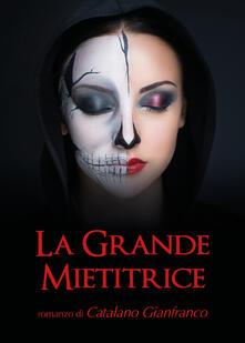 La grande mietitrice - Gianfranco Catalano - copertina