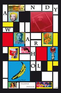 Andy Warhol, collage di un artista