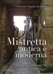 Mistretta antica e moderna - Salvatore Pagliaro Bordone - copertina