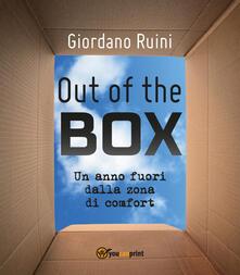 Out of the box, un anno fuori dalla zona di comfort - Giordano Ruini - copertina