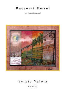Racconti umani - Sergio Valota - copertina