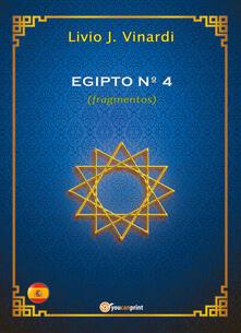 Egipto n° 4 (fragmentos) - Livio J. Vinardi - copertina