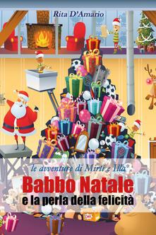 Babbo Natale e la perla della felicità - Rita D'Amario - copertina