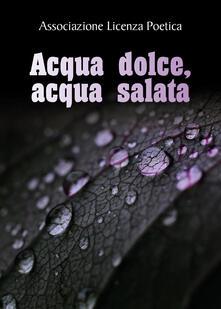 Acqua dolce, acqua salata - copertina