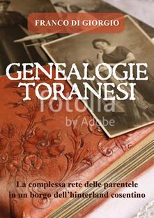 Genealogie toranesi - Franco Di Giorgio - copertina