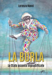 La burla - Lorenza Nacci - copertina