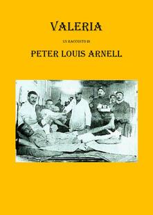Valeria - Peter Louis Arnell - copertina