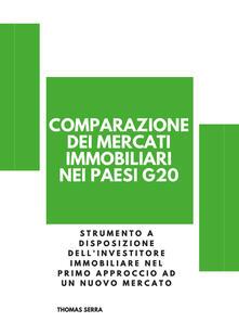 Comparazione mercati internazionali immobiliari - Thomas Serra - copertina