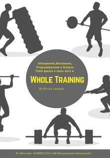 Listadelpopolo.it Whole training. Il libro più completo sull'allenamento funzionale! Image